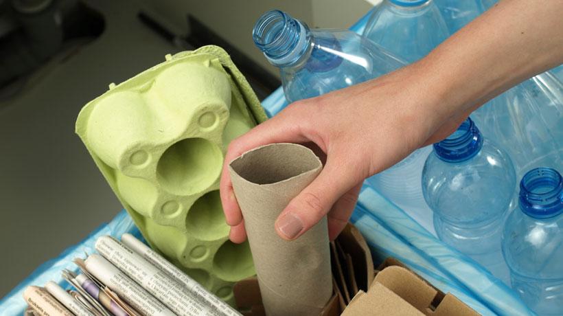 Passos para reciclar lixa na sua casa